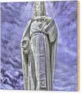 Ascension Of Christ Wood Print