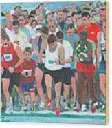 Ashland Half Marathon Wood Print