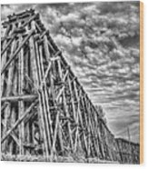 Ashland Ore Dock Wood Print