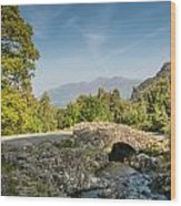 Ashness Bridge   Wood Print