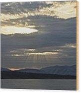 Ashokan Reservoir 13 Wood Print