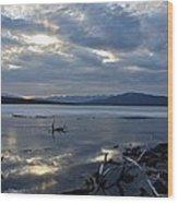 Ashokan Reservoir 17 Wood Print