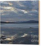 Ashokan Reservoir 20 Wood Print