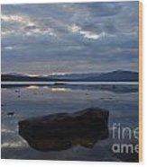 Ashokan Reservoir 22 Wood Print