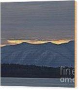 Ashokan Reservoir 24 Wood Print
