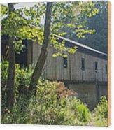 Ashtabula Collection - Olin's Covered Bridge 7k01977 Wood Print