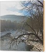 Ashuelot Sunrise Wood Print