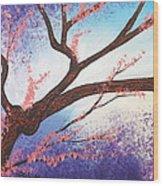 Asian Bloom Triptych 1 Wood Print