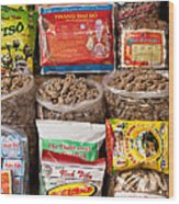 Asian Health Products 01 Wood Print