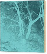 Asleep In The Woods Wood Print by Wendy J St Christopher