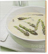 Asparagus Soup Wood Print by Colin and Linda McKie