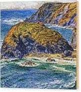 Aspargus Island Wood Print