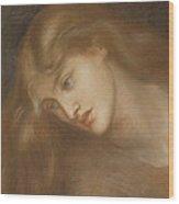 Aspecta Medusa Wood Print by Dante Charles Gabriel Rossetti