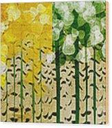 Aspen Colorado 4 Seasons Abstract Wood Print