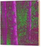 Aspen Grove 4 Wood Print