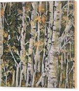 Aspen Hollow Wood Print