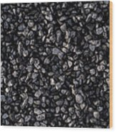 Asphalt Gravel Wood Print by Hakon Soreide