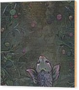 Aspiration Of The Koi Wood Print