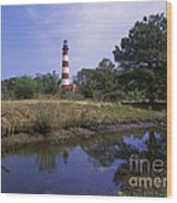 Assateague Lighthouse - Fm000081 Wood Print