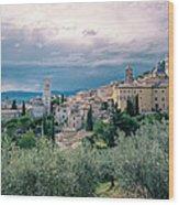 Assisi  Wood Print