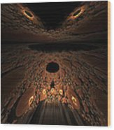 Asteroid Rendezvous  Wood Print