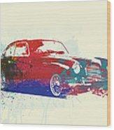 Aston Martin Db2 Wood Print