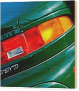 Aston Martin Db7 Taillight Wood Print