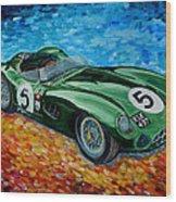 Aston Martin Dbr1 Wood Print