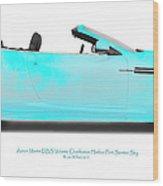 Aston Martin Dbs Fort Sumter Sky Wood Print