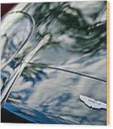 Aston Martin Hood Emblem 4 Wood Print