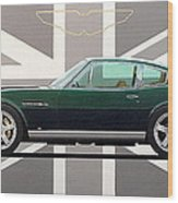 Aston Martin V8 Vantage Wood Print
