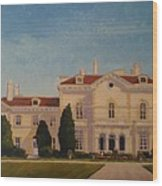 Astors Beechwood Mansion Wood Print
