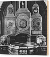 Astronomical Clock, C1750 Wood Print