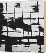 Asylum 004 Wood Print