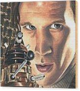 Doctor Who - Asylum Of The Daleks Wood Print