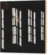Asylum Wood Print by Odd Jeppesen