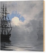 At Anchor Wood Print