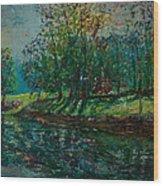 At Carondelet Park Wood Print