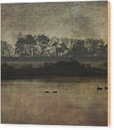 At Dawn Wood Print