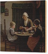 At Grandmothers Wood Print