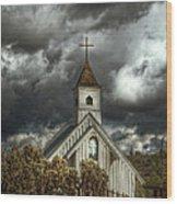 At Heaven's Door  Wood Print