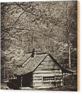 At Home In The Appalachian Mountains Wood Print by Paul W Faust -  Impressions of Light