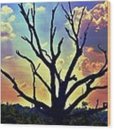 At Life's End There Is Light Wood Print
