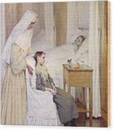 At Notre-dame Du Perpetuel Bon Secours Hospital Wood Print