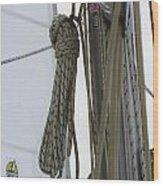 At Sail Wood Print