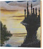 At The Edge Of Eternity Wood Print