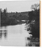 At The Lake-49 Wood Print