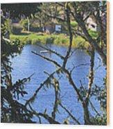 At The Oregon Coast Wood Print