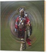 At The Powwow Sault Ste Marie Michigan Wood Print