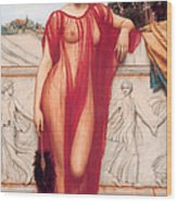 Athenais Wood Print